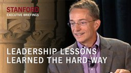 Leadership Lessons Learned the Hard Way